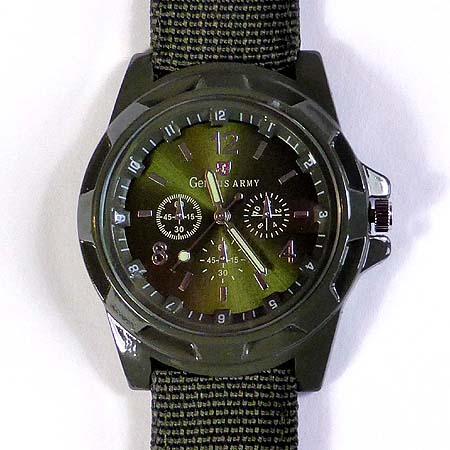 Herren quarz uhr armbanduhr mit robustem gewebearmband for Sonnenspiegel silber