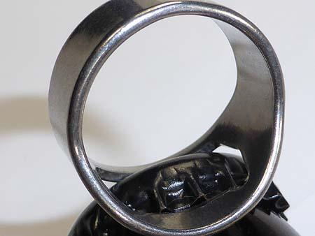 Flaschenöffner Ring aus Edelstahl in der Größe 24mm