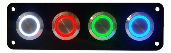 rastender taster fassung 22mm rote 12v led beleuchtung schalter pentagon gmbh. Black Bedroom Furniture Sets. Home Design Ideas